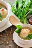 Gevulde Tofu Bal Stock Fotografie