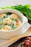 Gevulde Tofu Bal Royalty-vrije Stock Afbeeldingen