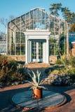 Gewächshaus an den Wellen-Hügel-allgemeinen Gärten im Bronx, New York City lizenzfreies stockfoto