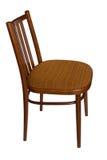 Gewöhnlicher Stuhl, Seitenansicht. Lizenzfreie Stockfotos