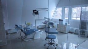 Gewöhnliches zahnmedizinisches Büro stock video footage