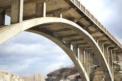 Gewölbte Brücke Lizenzfreie Stockfotos
