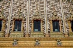 Gewölbte Fenster Watbanghuasuea Lizenzfreies Stockfoto