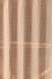Gewölbte Platte mit Löchern Stockbilder