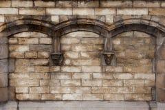 Gewölbte Wand Lizenzfreies Stockbild