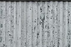 Gewölbte Wand mit Schalenfarbe Stockfotos