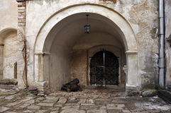 Gewölbter Eingang Lizenzfreies Stockbild