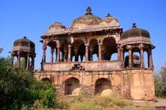 Gewölbter Tempel an Ranthambore-Fort, Indien lizenzfreies stockbild