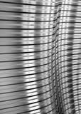 Gewölbtes Blech, reflektierende Leuchte Lizenzfreie Stockbilder