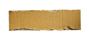 Gewölbtes cardboad Stockbild