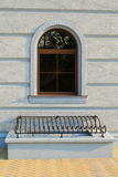 Gewölbtes Fenster Lizenzfreies Stockbild