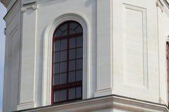 Gewölbtes Fenster Lizenzfreie Stockfotografie
