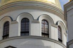 Gewölbtes Fenster Stockfotografie