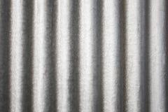 Gewölbtes Metallzink Lizenzfreie Stockbilder
