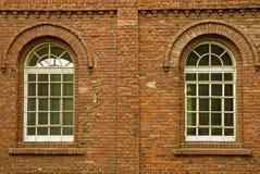 Gewölbtes Windows Lizenzfreie Stockfotos