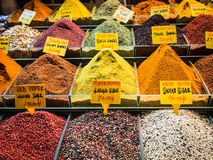 Gewürz auf türkischem Markt Lizenzfreie Stockbilder