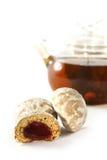 Gewürz-backt für das Teetrinken zusammen Stockbilder