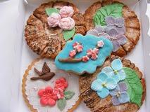Gewürz-Kuchen Tag des Baums, Frühlingsbilder Stockfotos