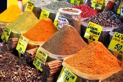 Gewürz-Markt - die Türkei Stockbilder