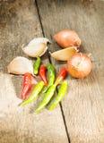 Gewürz und Kraut für Lebensmittelinhaltsstoff. Stockfotos