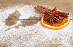 Gewürz und Zucker Lizenzfreies Stockbild