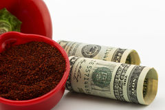 Gewürze sind eine Lebensmittelindustrie-Geschäftstendenz Lizenzfreies Stockfoto