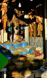 Gewürzmarkt in Marokko Lizenzfreie Stockfotos