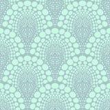 Gewaagd gestippeld geometrisch patroon in art decostijl Stock Foto's