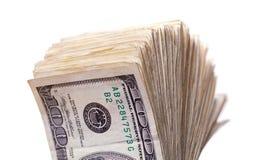 Gewaaid geld stock afbeeldingen