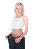 Gewachsenes dünnes Mädchen Lizenzfreies Stockfoto