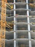 Gewapend beton constructi royalty-vrije stock foto