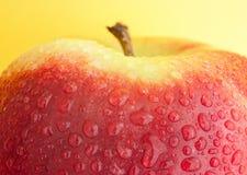 Gewaschener Apfel Lizenzfreies Stockbild