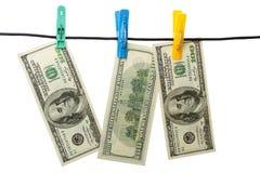 Gewaschenes Geld Lizenzfreie Stockfotos