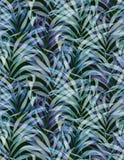 Gewassen palmpatroon, langzaam verdwenen kleuren Royalty-vrije Stock Fotografie