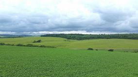 Gewassencirkel Wiltshire het UK Royalty-vrije Stock Foto's