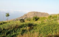Gewassengebied door Monte Preto Royalty-vrije Stock Foto