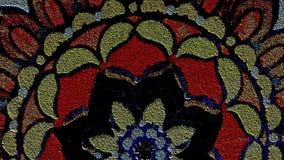 Gewebe-Fleck-Glasmuster Youtube-Kanal Art Banner Lizenzfreie Stockfotografie