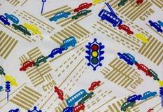 Gewebe mit abstraktem Muster Stockbild