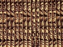 Gewebe mit abstraktem Muster Stockfoto