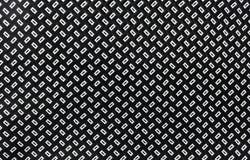 Gewebe mit einem Muster des weißen Diamanten Stockbild