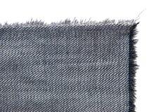 Gewebe mit Franse auf Weiß Lizenzfreie Stockbilder