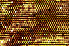 Gewebe mit hellen Pailletten für Hintergrund Lizenzfreie Stockbilder