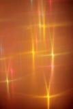 Gewebe und Lichter. Stockfoto