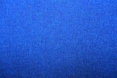 Gewebebeschaffenheit, blauer Hintergrund Stockfotos