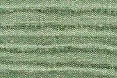 Gewebebeschaffenheit der Nahaufnahme grüne Farb Lizenzfreies Stockbild