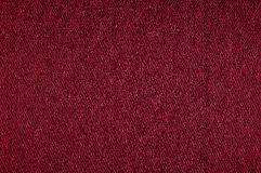 Gewebebeschaffenheit der Nahaufnahme rote Farb Lizenzfreie Stockfotos