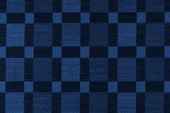 Gewebehintergrund mit geometrischen Mustern Tonen in Pantone Col. Stockfotografie