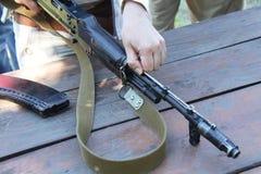 Gewehr AK-47 Stockfoto