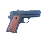 Gewehr auf lokalisiert lizenzfreies stockfoto
