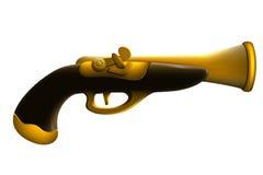 Gewehr für Piraten Stockbild